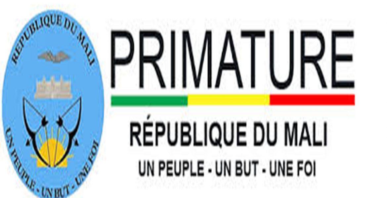 Primature République du Mali